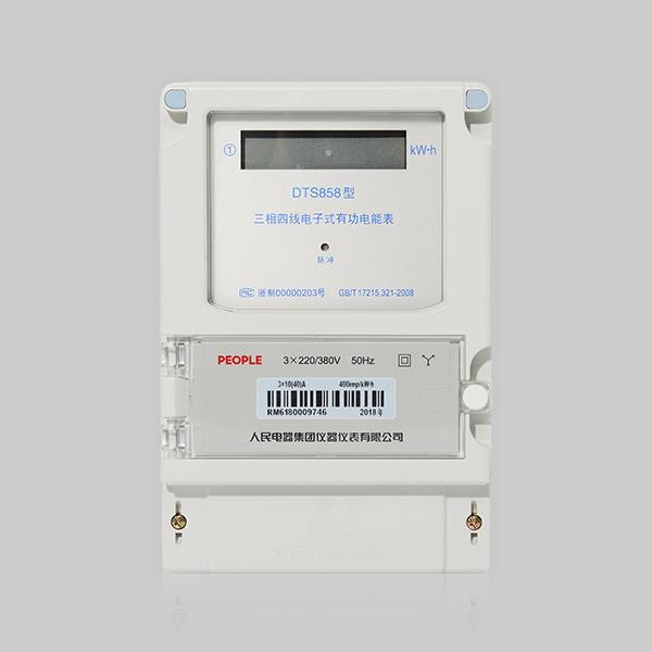DSS858/DTS858型三相电子式有功电能表系列