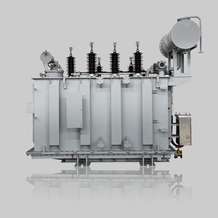 上海快3平台35kV級三相有截調壓電力變壓器