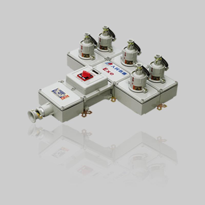 BXX52系列防爆检修电源插座箱(ⅡB、ⅡC)