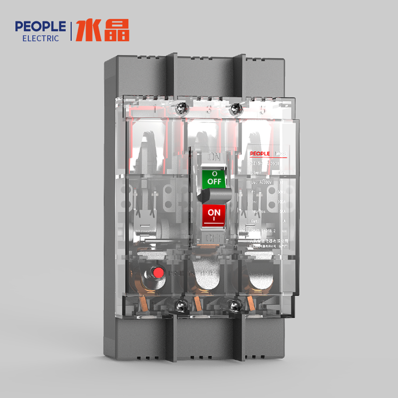 浙江人民电器,人民电器DZ15系列塑料外壳式断路器(透明壳)