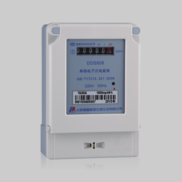 DDS858 single-phase electronic meter
