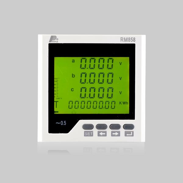 RM-858E多功能谐波表