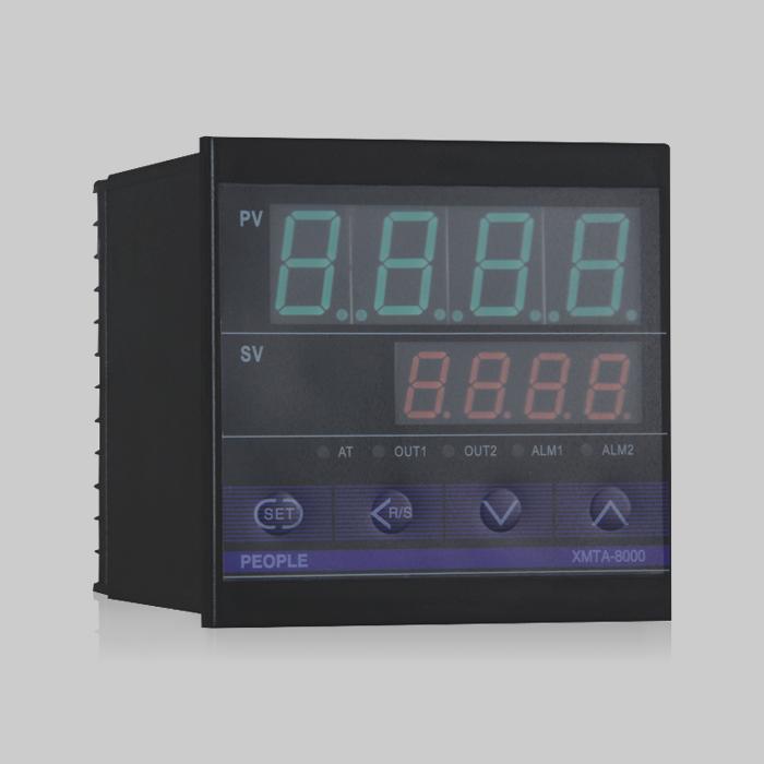 XMT-8000系?#22411;?#33021;输入指示调节仪