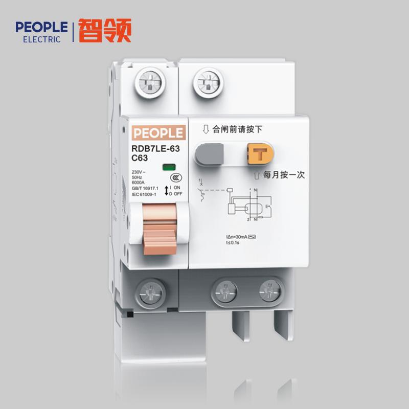 RDB7LE-63系列小型剩余电流动作断路器