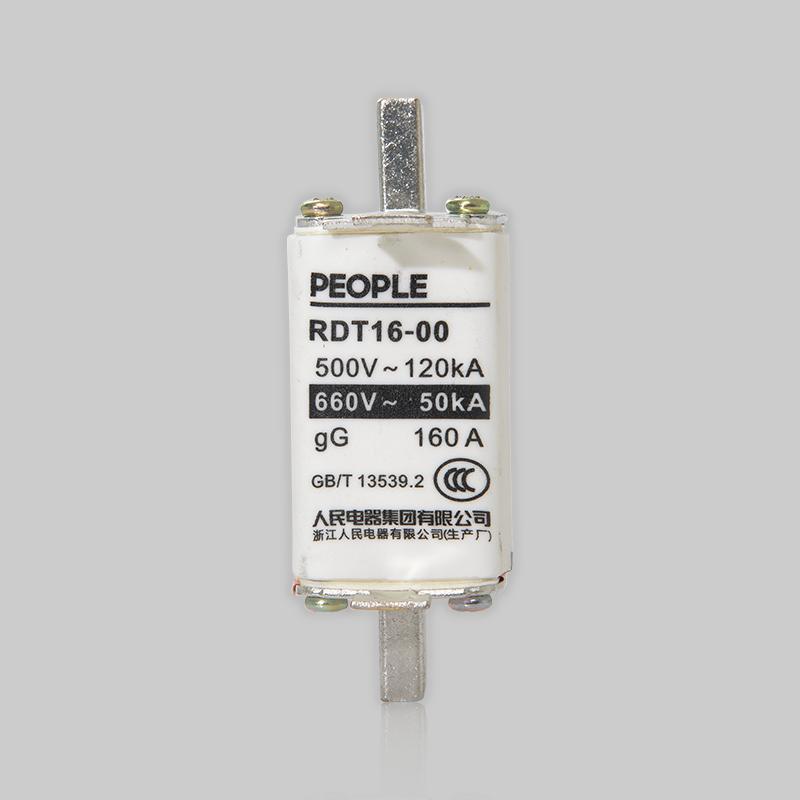 手机bet356客户端,人民电器RDT16系列有填料封闭管式刀型触头熔断器