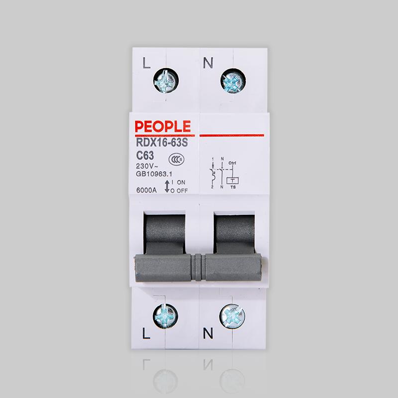 浙江人民电器,人民电器RDX16-63S小型断路器