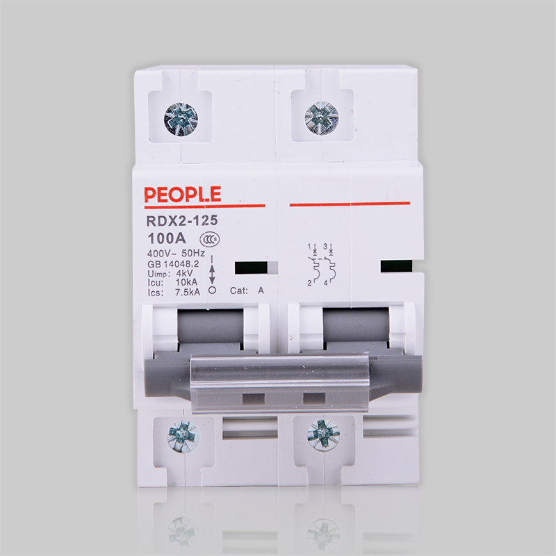浙江人民电器,人民电器RDX2-125高分断小型断路器