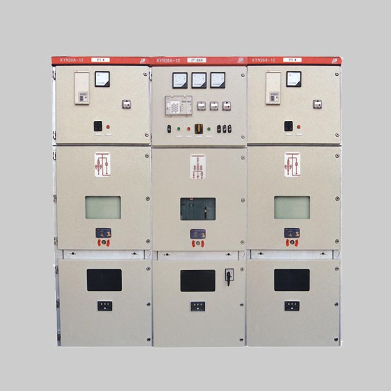 上海人民电器KYN28A-12(Z)铠装移开式交流金属封闭开关设备